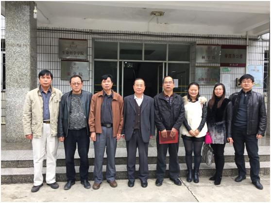 学院党委书记吕伟斌一行赴贵州大学进行考察访问
